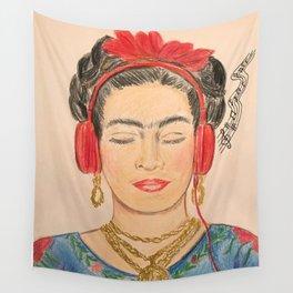 The Modernization of Frida Wall Tapestry