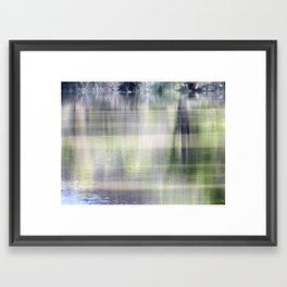 Reflective moments Framed Art Print