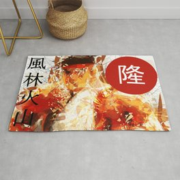 Street Fighter II - Ryu Rug