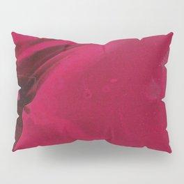 red smear Pillow Sham