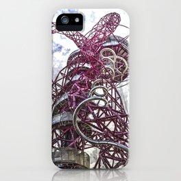 The Arcelormittal Orbit Art iPhone Case