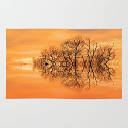 Sunset in March Rug