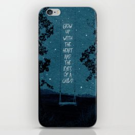 Heart of a Child iPhone Skin