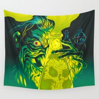 mad Wall Tapestries featuring MAD SCIENCE! by BeastWreck