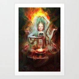 Tara Bodhisattva Art Print