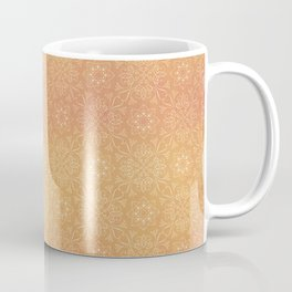 Indian Summer Mandala Copper Coffee Mug