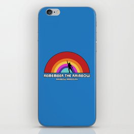 Remembering Rainbow Randolph iPhone Skin