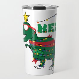 Excite yourself with this unique and funny tree! Tree-Rex tee design made perfectly for you! Travel Mug