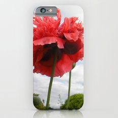 Red Poppies Slim Case iPhone 6s