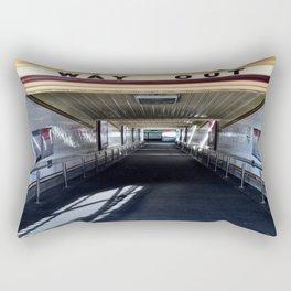 Way Out Rectangular Pillow