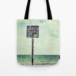 key west water's edge Tote Bag
