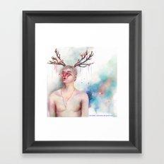 Butterfly Feelings Framed Art Print