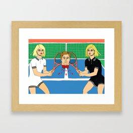 The Boy is Mine Framed Art Print