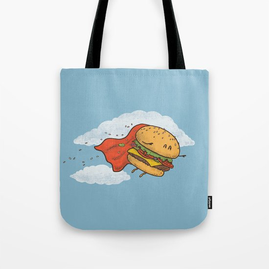 Superburger! Tote Bag