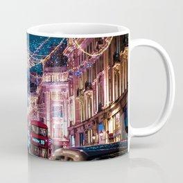 London Christmas Lights (Color) Coffee Mug