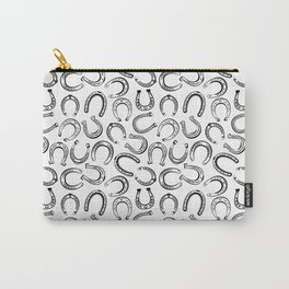 Horse Pattern | Horseback Riding Pony Stallion Carry-All Pouch