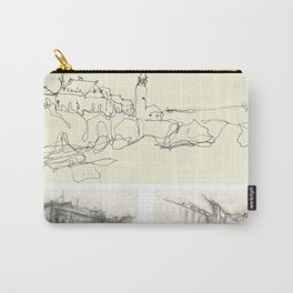 Lighthouse_sketch Carry-All Pouch