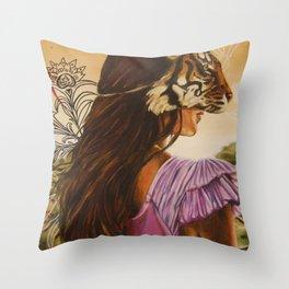 Tigris Throw Pillow