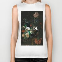pride Biker Tanks featuring Pride by Filthy english