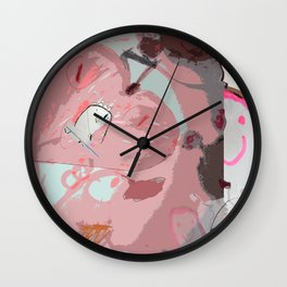 Happy Sasa Wall Clock