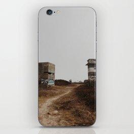 Abandoned Bunker iPhone Skin