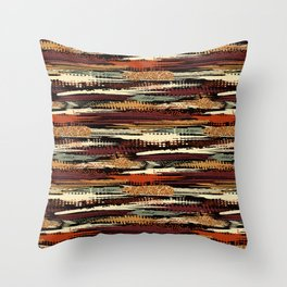 Tribal Abstracts 4 Throw Pillow