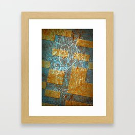 Grunge Background 6 Framed Art Print