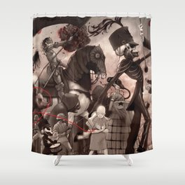 My Chemical Romance - The Black Parade - Alternative Shower Curtain