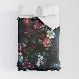 NIGHT GARDEN XI Comforters