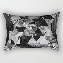 Malcolm x Rectangular Pillow