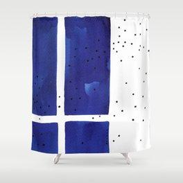 Ultramarine #8 Shower Curtain