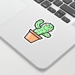 Cutest Cactus Sticker