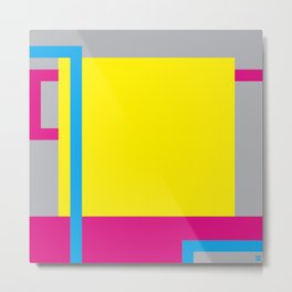 P.H. - Yellow Metal Print