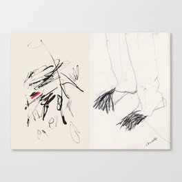 Fashion Objects: A Diptcyh Canvas Print