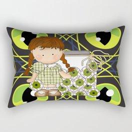 Halloween Eye Balls Rectangular Pillow