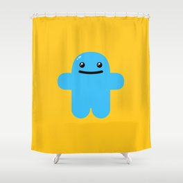 Huggy Shower Curtain