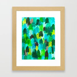Drink in the Trees Framed Art Print