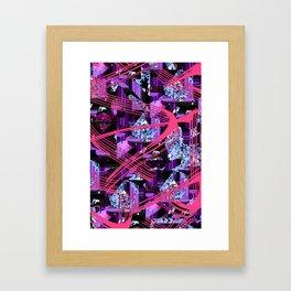 Random Struggle (ID439) Framed Art Print