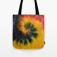 tie dye Tote Bags featuring Tie Dye  by Mylittleradical