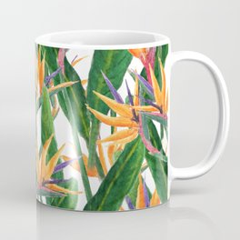 bird of paradise pattern Coffee Mug