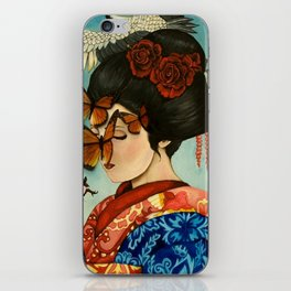 The Exploitation of Butterfly iPhone Skin