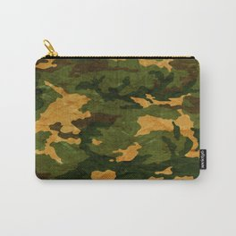 Camouflage Muster Grunge Carry-All Pouch