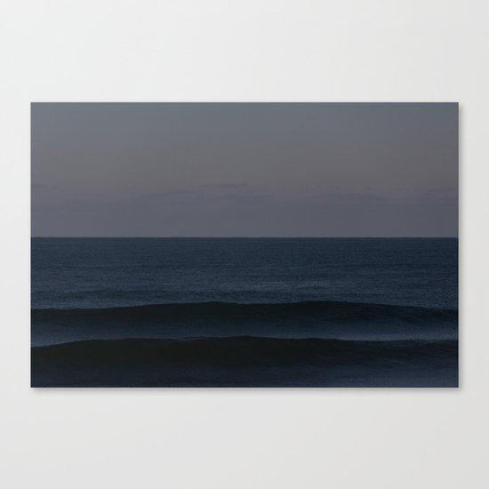 Ocean Shadows Canvas Print