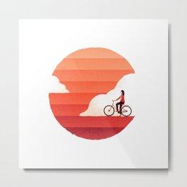 Sunshine Ride Metal Print
