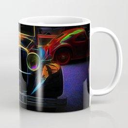 Fractal car vintage car Coffee Mug