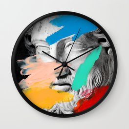 Composition 727 Wall Clock