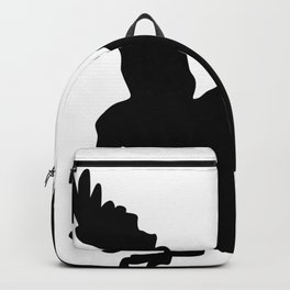 Eagle Silhouette Backpack