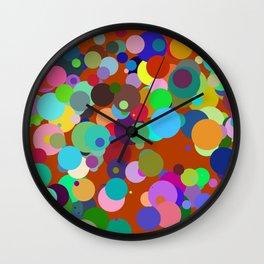 Circles #4 - 03092017 Wall Clock
