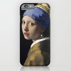 Johannes Vermeer - Girl with a Pearl Earring iPhone 6s Slim Case