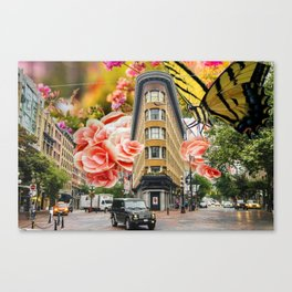 Gastown Gardens Canvas Print